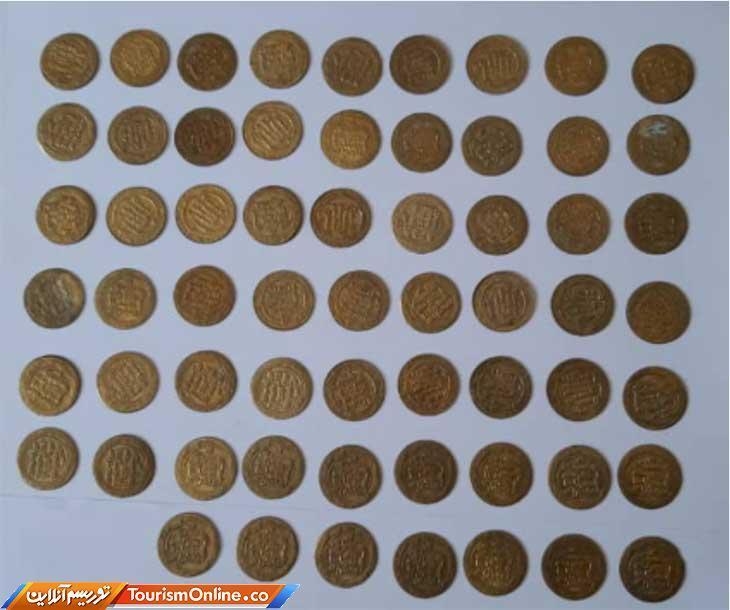 کشف و ضبط 61 قطعه سکه تقلبی در کرمانشاه