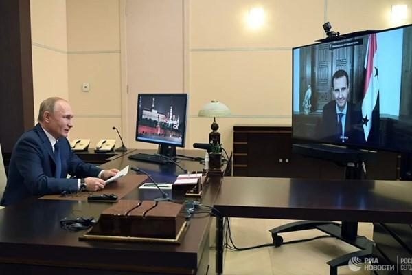 پوتین: برای بازسازی سوریه باید از توان آوارگان استفاده کرد