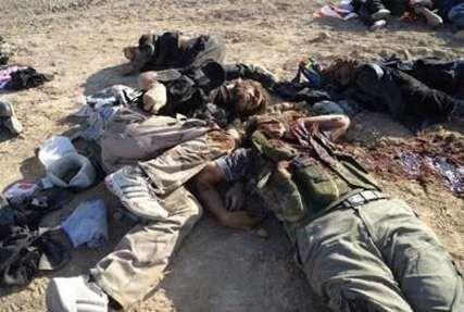 خبرنگاران هلاکت 16 تروریست در ادلب سوریه