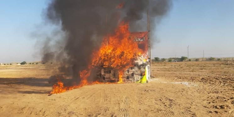 امحای 2700 کیلوگرم مواد مخدر در بوشهر