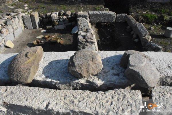 کشف کتیبه و بقایای معبد باستانی در ترکیه