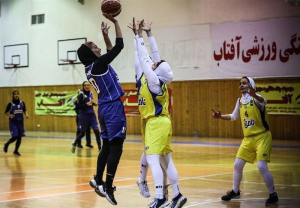 لیگ برتر بسکتبال بانوان، پیروزی پالایش نفت آبادان و شهرداری قزوین