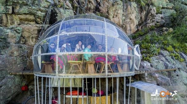 اقامتی هیجان انگیز در هتل معلق واقع در کوهستان مرتفع پرو، عکس