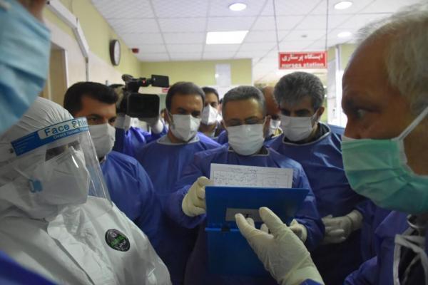 خبرنگاران تعداد افراد کرونایی بستری در جنوب غرب خوزستان پنج برابر شد