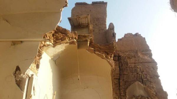 خبرنگاران سقف یک خانه تاریخی در دزفول فروریخت