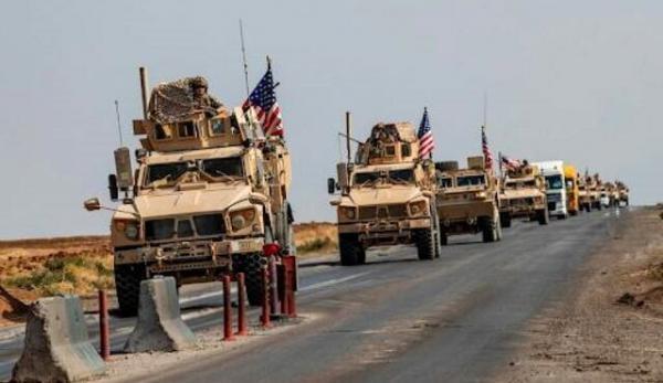 ورود 45 کامیون ائتلاف آمریکا از عراق به سوریه