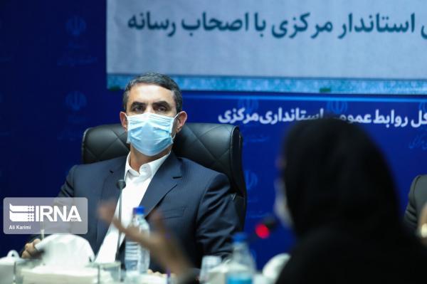 خبرنگاران استاندار: هیچ برنامه ای برای جدایی شهرستانی از استان مرکزی مطرح نیست