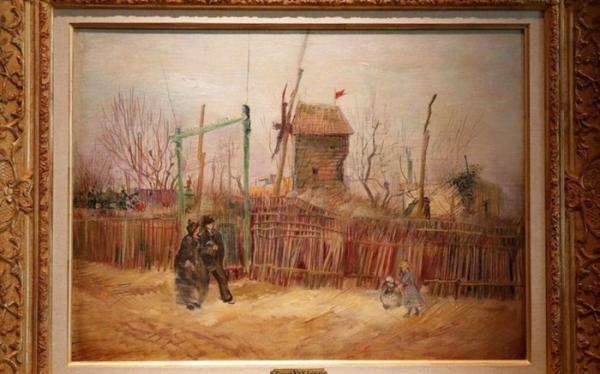 نقاشی دیده نشده ون گوگ13 میلیون یورو فروش رفت