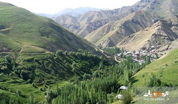 روستاهای زیبا و گردشگری در اطراف تهران