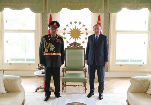 دوستم پس از ملاقات با اردوغان: نشست استانبول به صلح در افغانستان منجر می گردد
