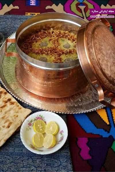 طرز تهیه آش سبزی شیرازی (آش سبزی صبحانه)