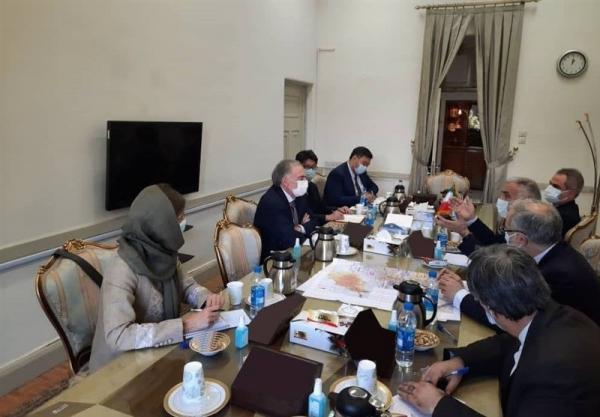 دیدار نماینده گوترش در امور افغانستان با مشاور ظریف