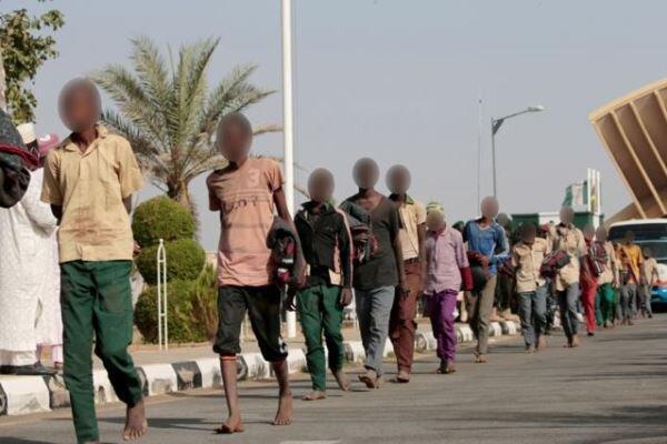 آزادی حدود 70 دانش آموز ربوده شده از چنگ آدم ربایان در نیجریه