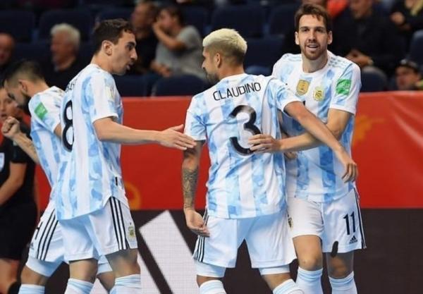 ویزای آمریکا: جام جهانی فوتسال، صدرنشینی آرژانتین در گروه ایران با تحقیر آمریکا
