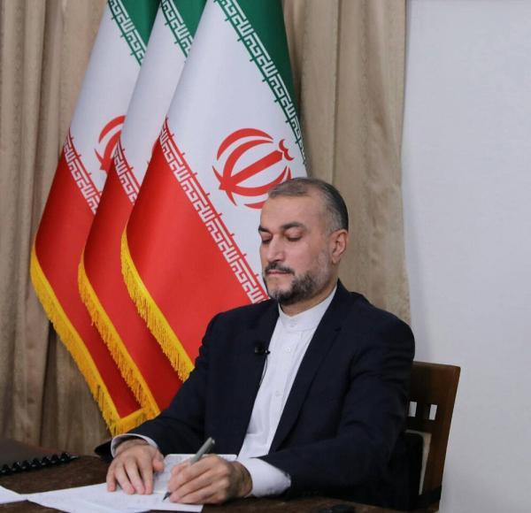توئیت امیرعبداللهیان پس از عضویت ایران در شانگهای